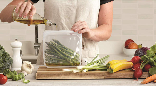 Stasher Silicone Reusable Bags