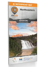 BRMB Water-Resistant Map: Adventure Topographic