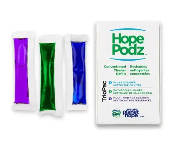 HopePodz Plastic Free Concentrated Cleaner Refills