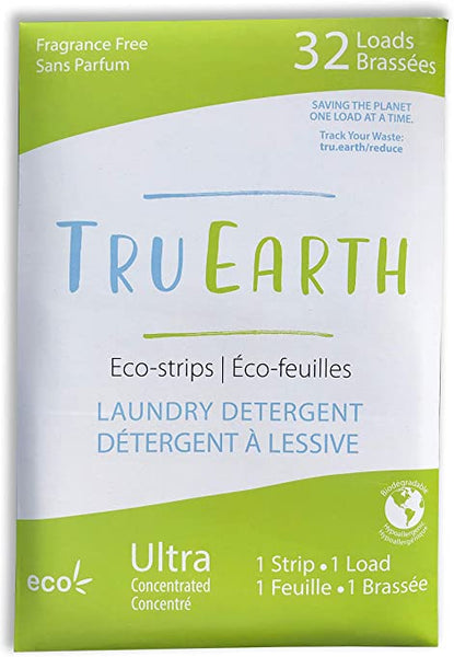 Tru Earth Laundry Soap Strips - Unscented