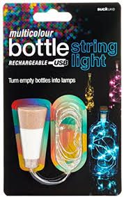 Suck UK - USB Bottle String Lights