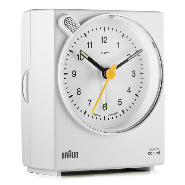 Braun Classic Voice Activated Alarm Clock
