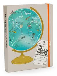 The World Awaits: A Travel Organizer - Kate Pocrass