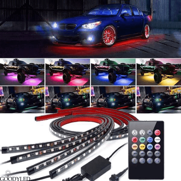 Neon Undercar Glow Lights