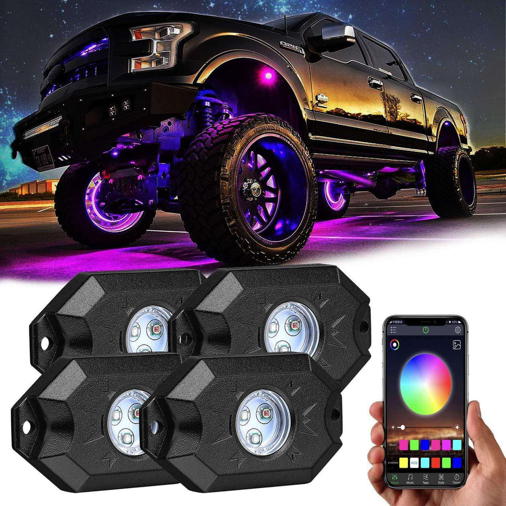 RGB LED Rock Lights