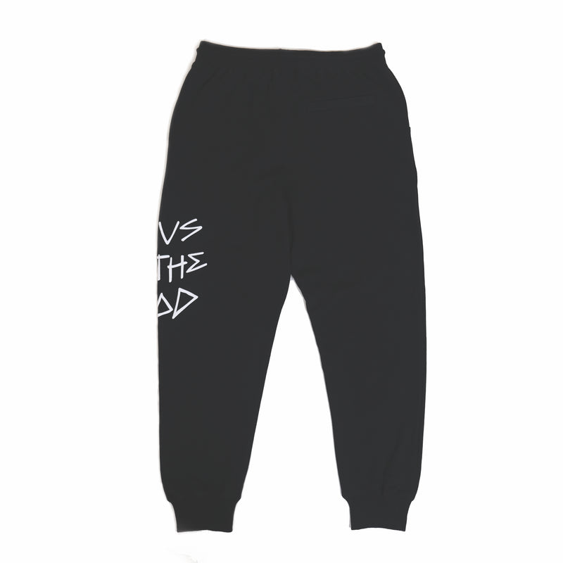 FOCUS ON THE GOOD BLACK JOGGERS