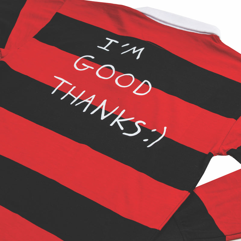 HI HOW ARE YOU? RUGBY JERSEY