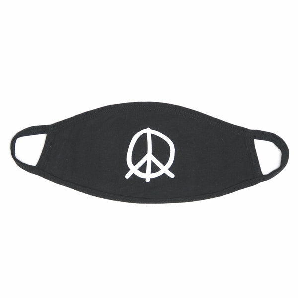 FOCUS ON THE GOOD PEACE SIGN MASK