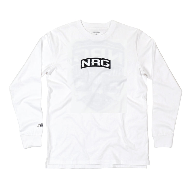 Skull White Long Sleeve