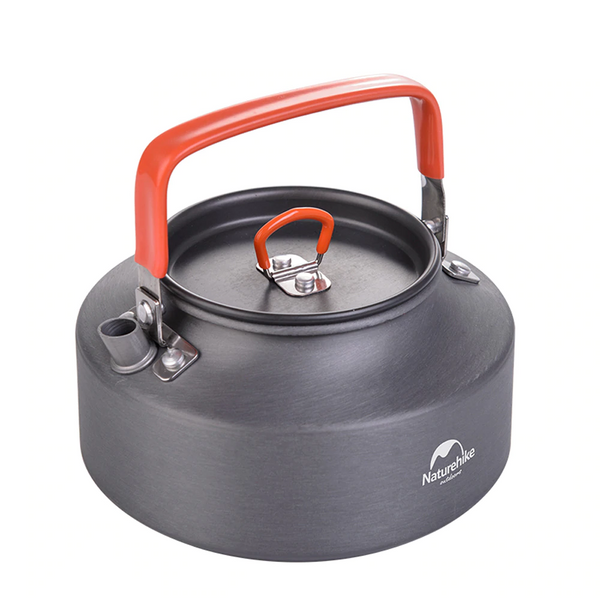 NatureHike 1L Aluminium Alloy Camping Kettle - equippt travel & camping