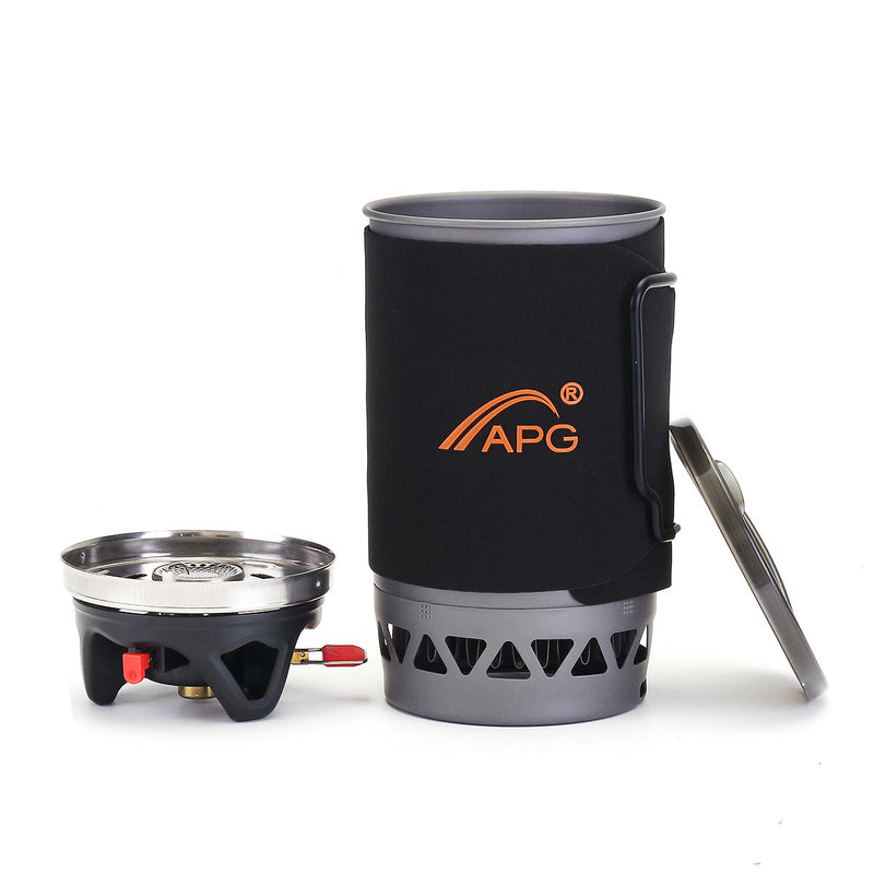 APG Windproof Gas Stove - equippt travel & camping