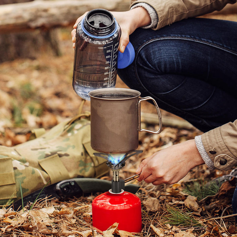 Xmund ST1 Mini Gas Stove - equippt travel & camping