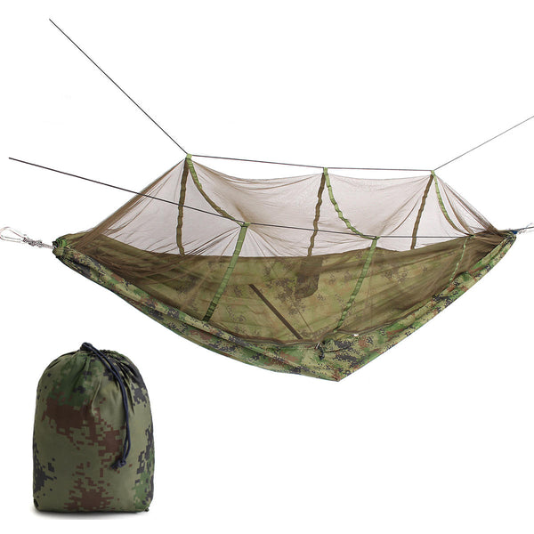 IPRee Double Parachute Hammock With Mosquito Net - equippt travel & camping
