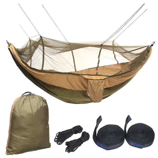 BG Double Hammock With Mosquito Net - equippt travel & camping