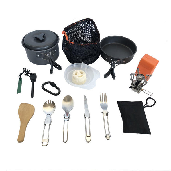 BG 1-2 Person Camping Cookware Set - equippt travel & camping