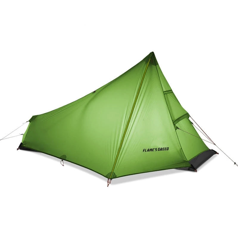 Flames Creed 1 Person Ultralight Camping Tent - equippt travel & camping