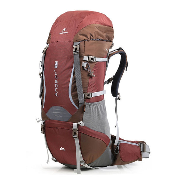 Maleroads Andean 70L Breathable Hiking Rucksack - equippt travel & camping