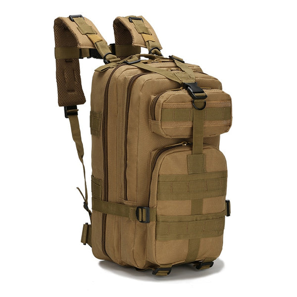 Morrysalee Mens Camouflage Backpack - equippt travel & camping