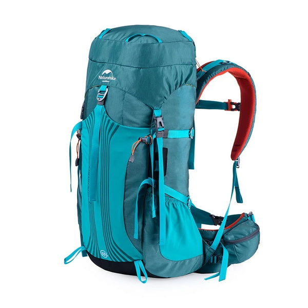 Naturehike 55-65L Professional Hiking Rucksack - equippt travel & camping