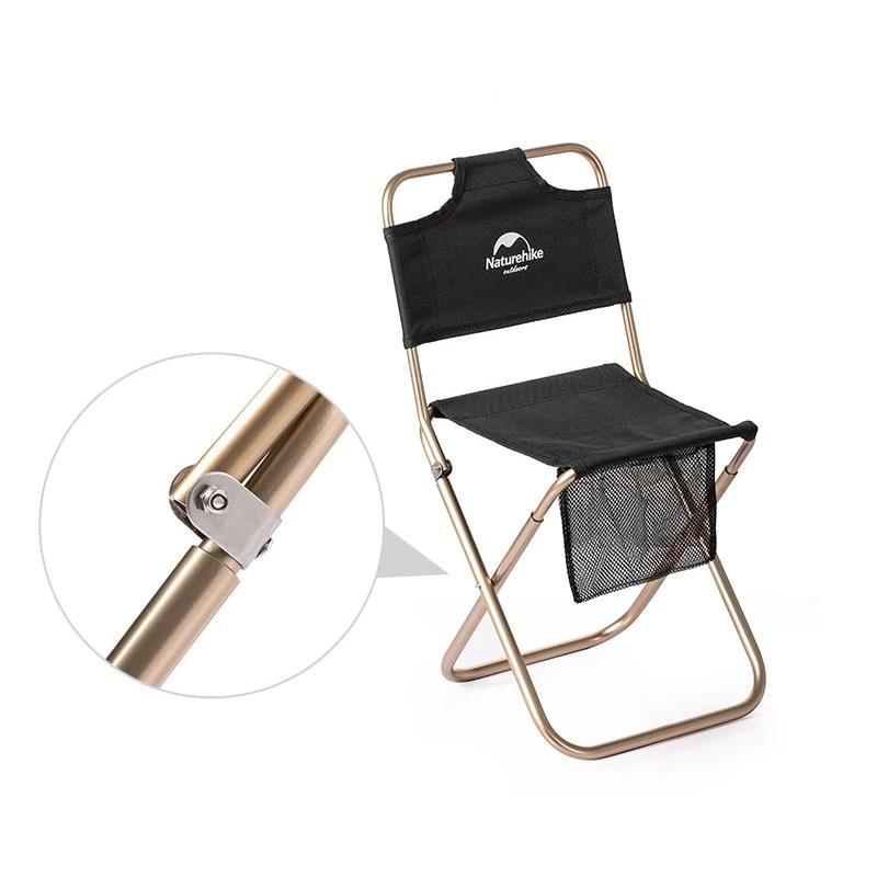 Naturehike Aluminium Alloy Outdoor Chair - equippt travel & camping