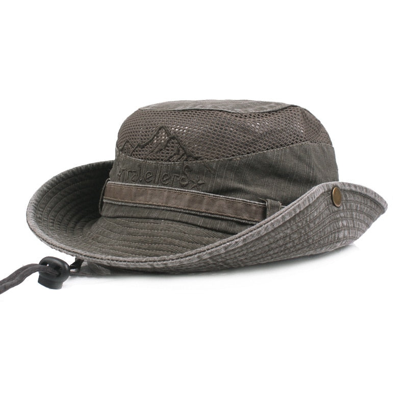 Tri-Polar Wide Brim Hat - equippt travel & camping
