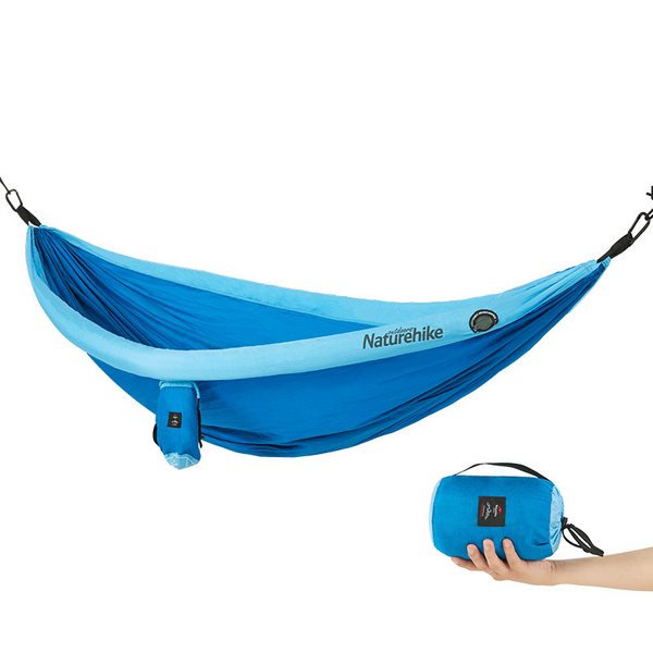 Naturehike Double Hammock with Optional Mosquito Net - equippt travel & camping