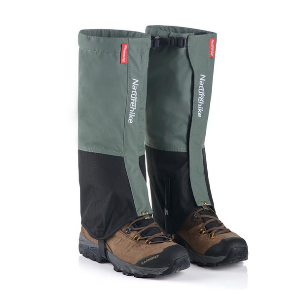 Naturehike Mens High Leg Trail Gaiters - equippt travel & camping