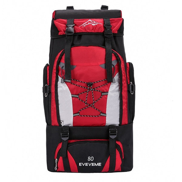 Eveveme 80L Expedition Rucksack - equippt travel & camping