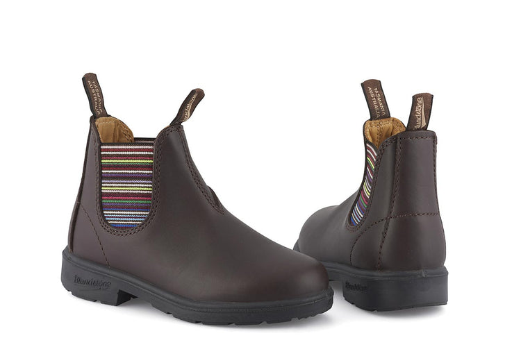 Blundstone #1413 Brown/Stripes