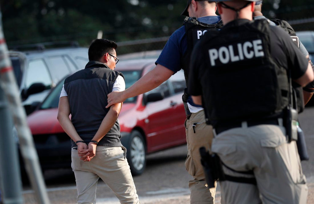 Immigration Agents Arrest 680 Workers in Massive Raids at Mississippi Food Processing Plants