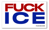 """FUCK ICE"" Sticker Trio"