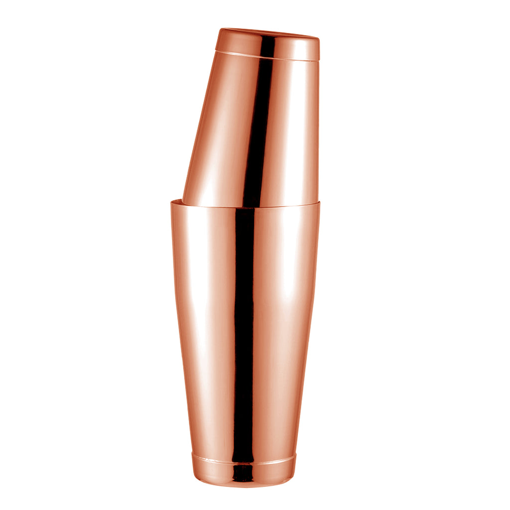 Homestia Rose Gold Stainless Steel Boston Shaker 18oz & 28oz