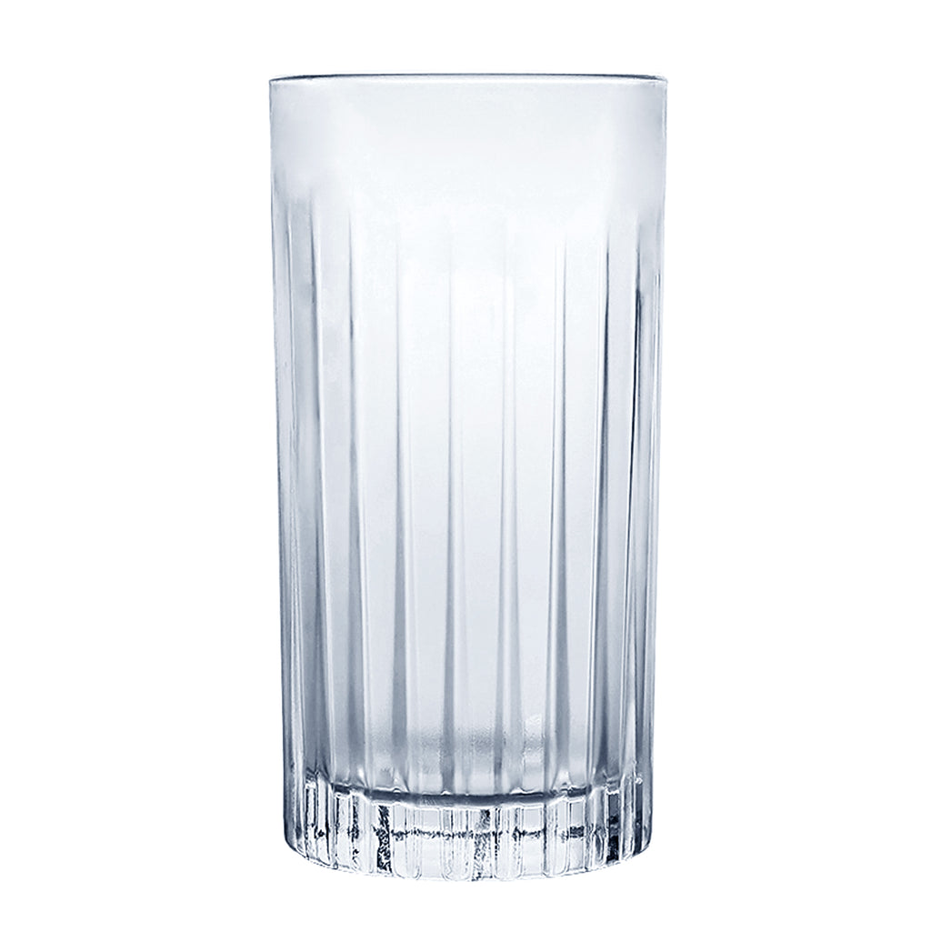 Homestia Cut Crystal Highball Glasses Lead-free Crystal Cocktail Glass 14.5 oz