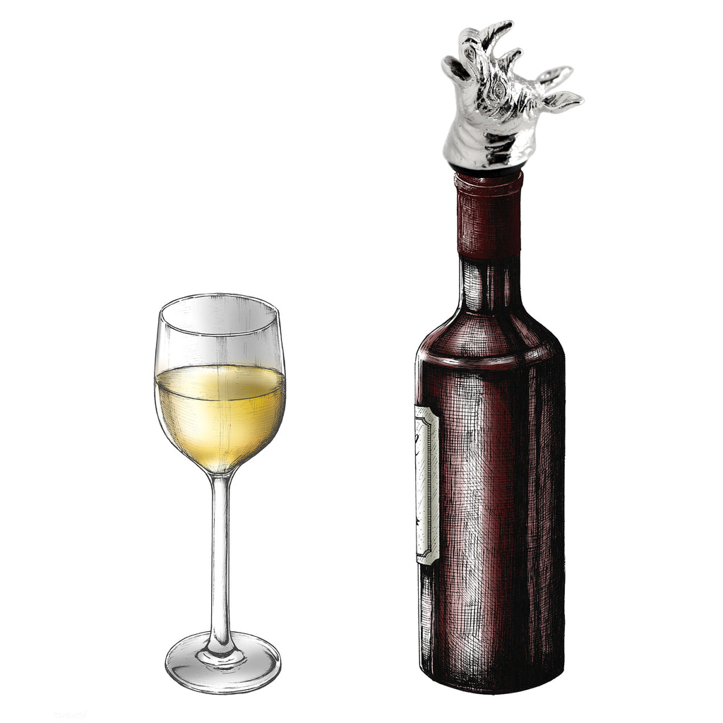 Homestia Rhino Wine Stopper with Pourer