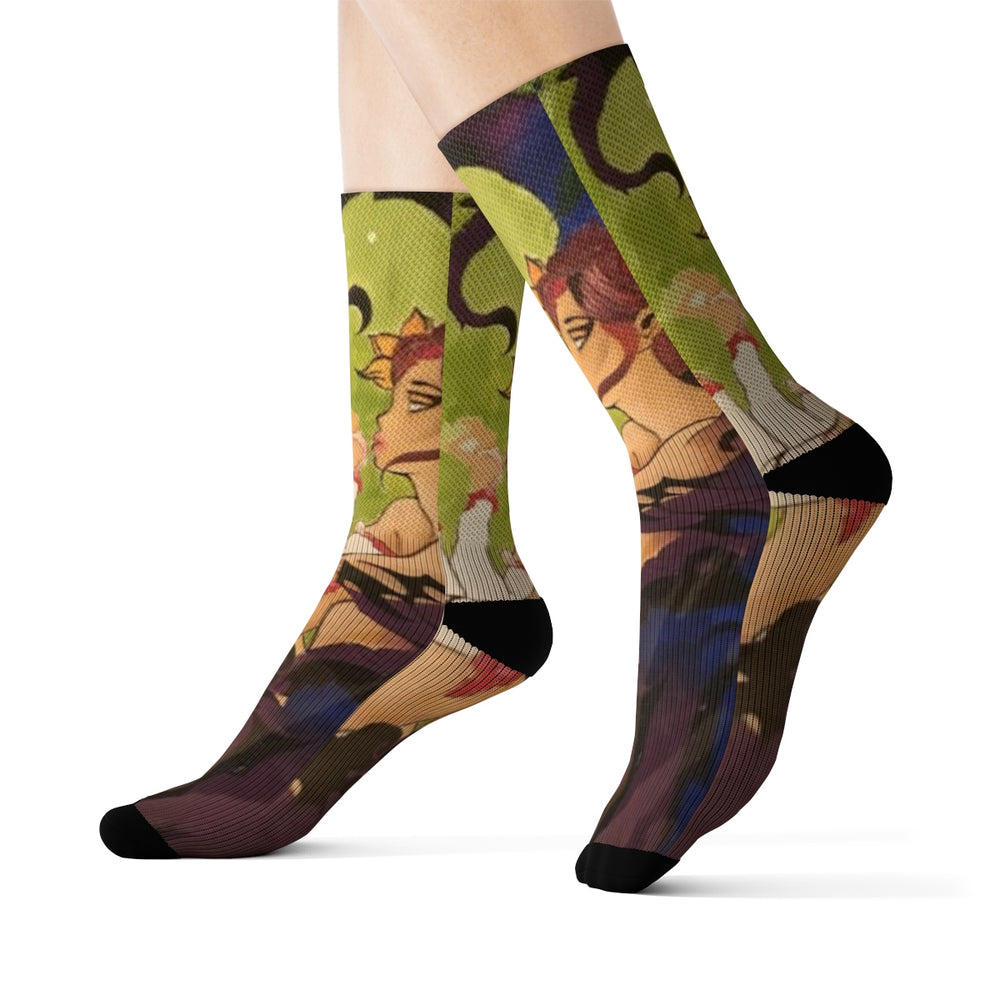 Sublimation Socks BY INDIOSEYE