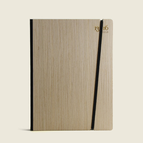 2019 Diary with wood cover|Agenda 2019 in legno