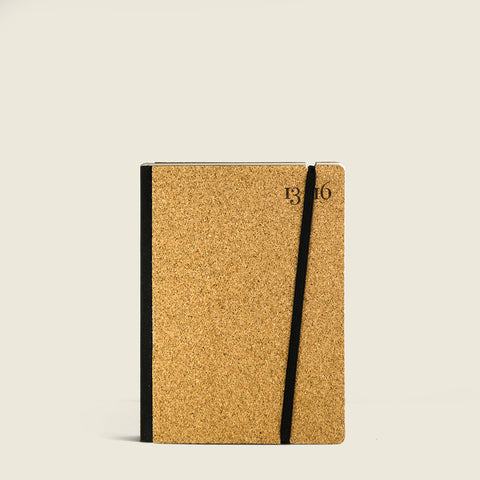 Pocket notebook with cork cover|Taccuino Pocket con copertina in sughero