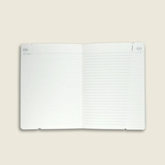 Pocket notebook with rosewood cover|Taccuino Pocket con copertina in palissandro