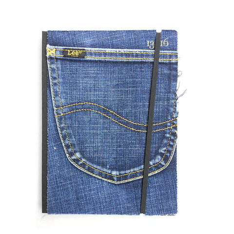 Jeans notebook|Taccuino jeans