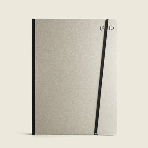 Natural Gray notebook |Taccuino grigio naturale