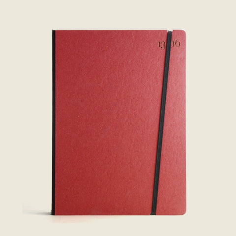 Cardinal red notebook |Taccuino rosso cardinale