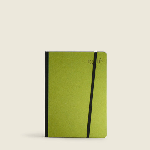 Lime Green Pocket Notebook|Taccuino Pocket lime