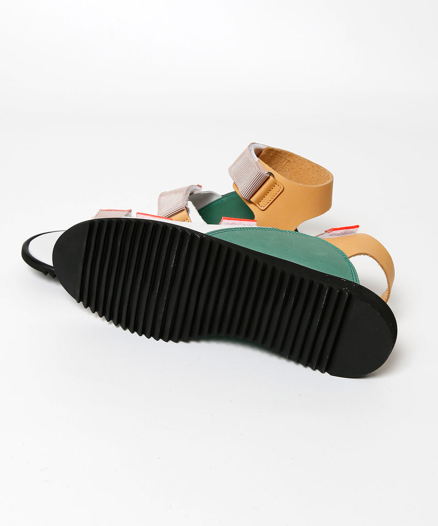 Tropical Leather Sandal