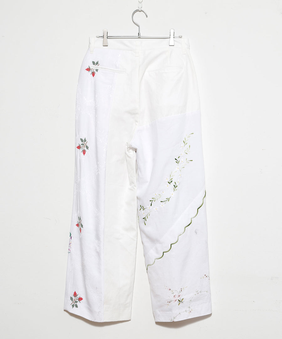 TABLE CLOTH WIDE TUCK PT/O WHT_008