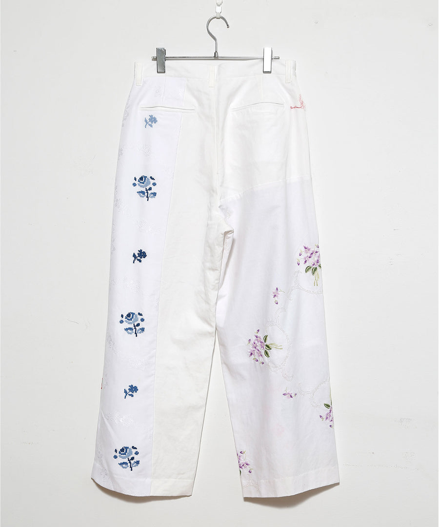TABLE CLOTH WIDE TUCK PT/O WHT_009
