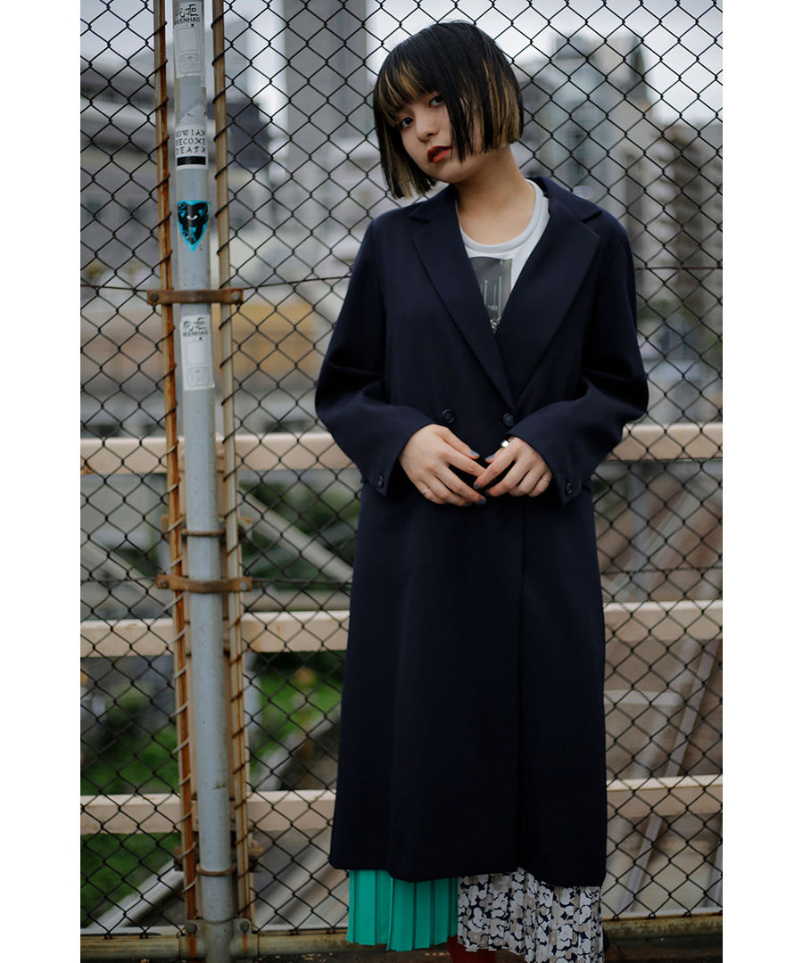 SCARF LONG COAT/001