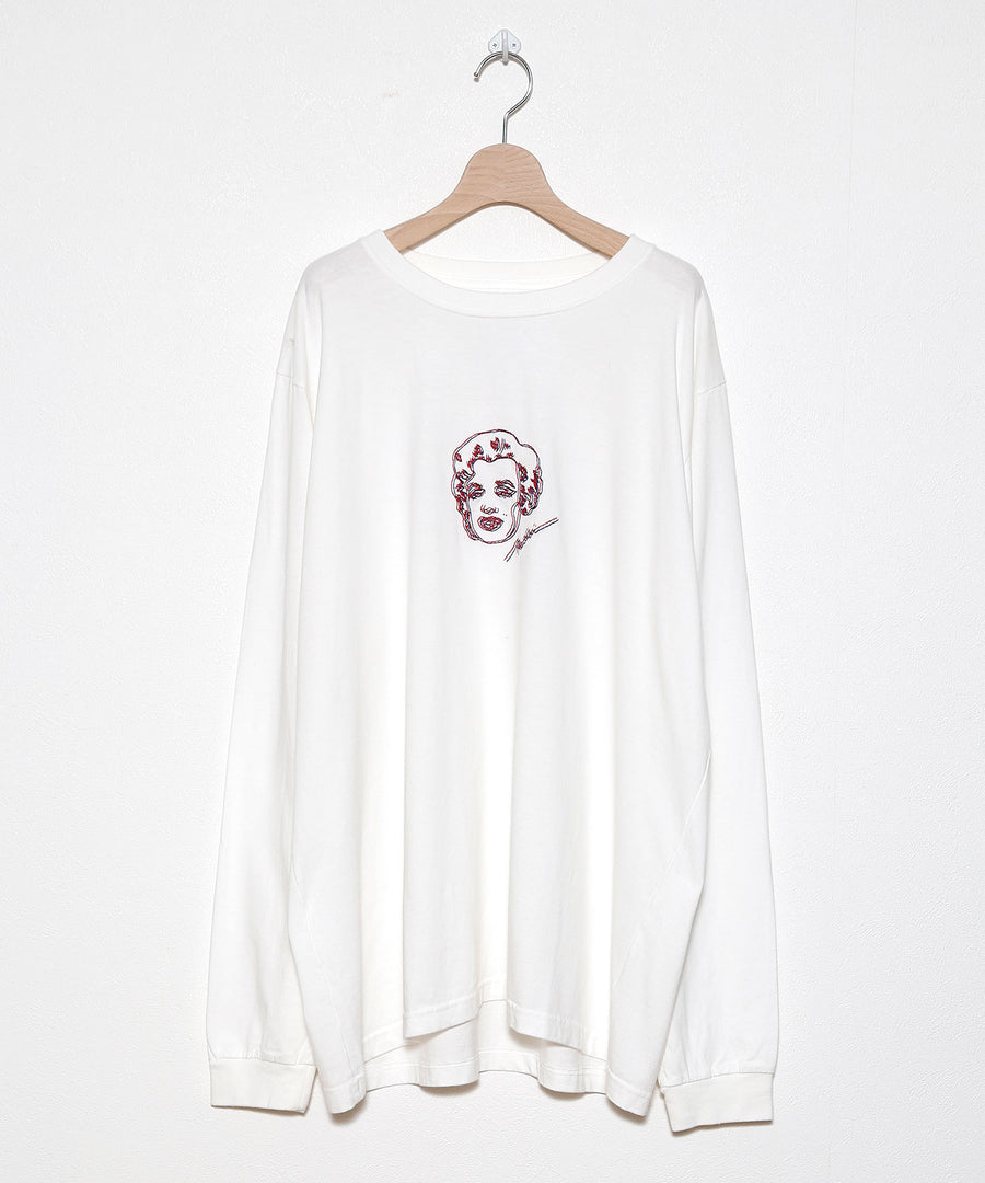 KENDAI × STOF  EMBROIDERY L/S T-SHIRTS