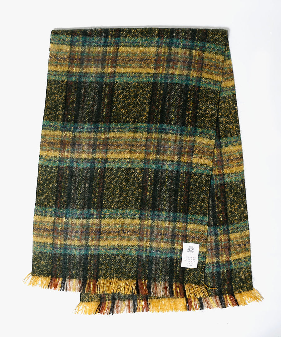 FRENCH CHECK MOHAIR STOLE