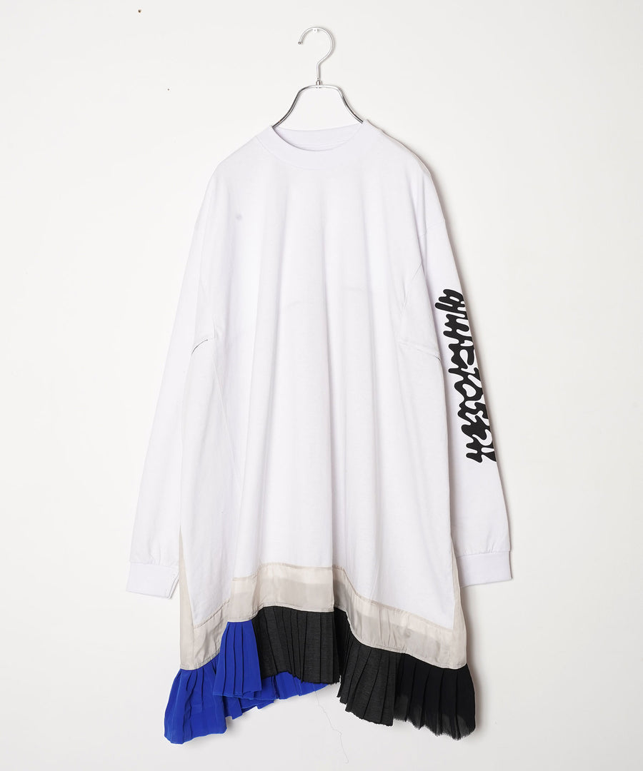 L/S T OP(RYU MIENO)/WHT*IVR*中国語001