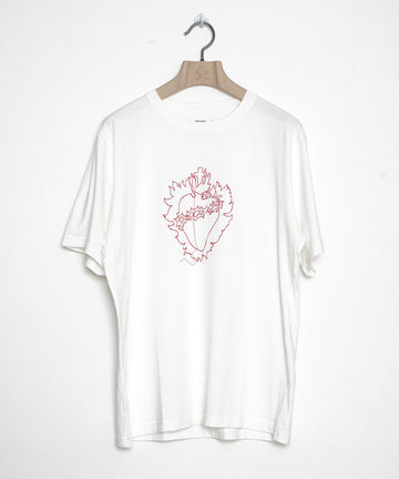 Embroidery T-shirt A/心臓
